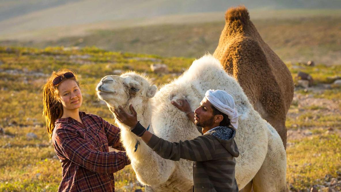 À la rencontre des bedoins © Frits Meyst