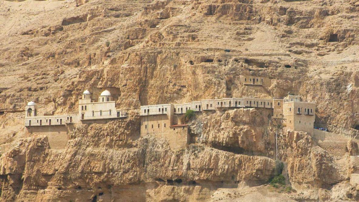 Monastère de la Tentation à Jéricho