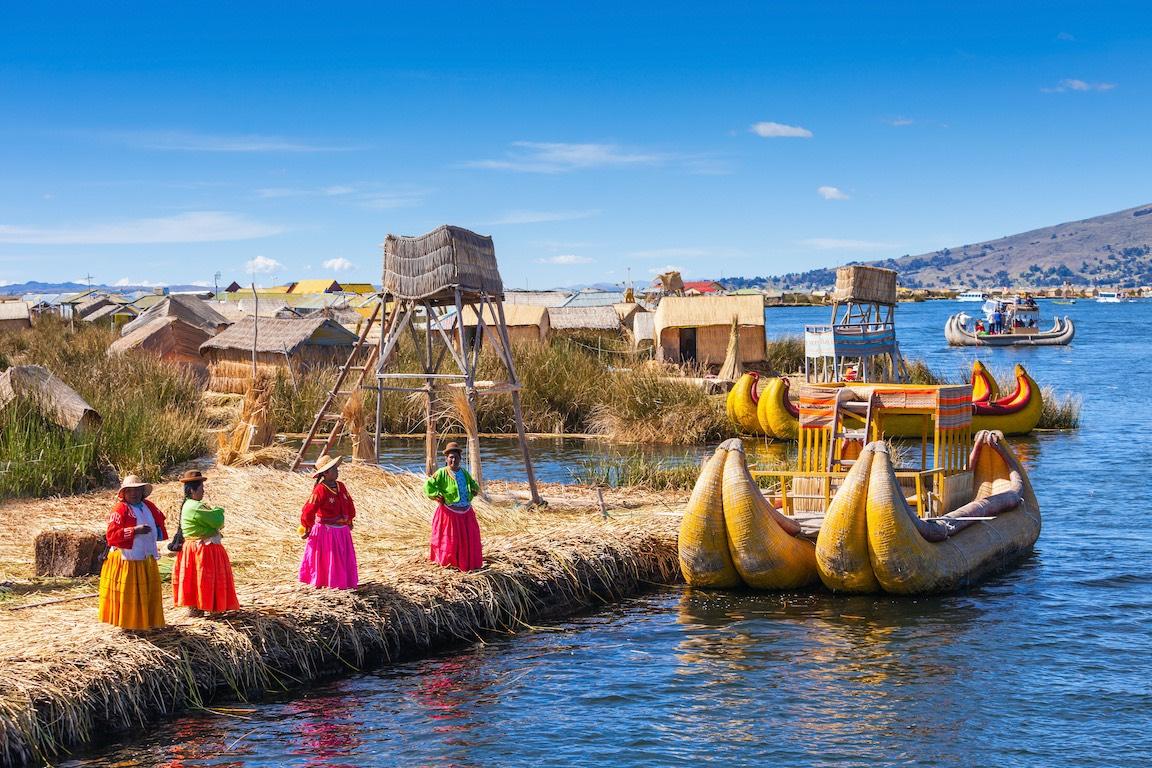 Pérou Lac Titicaca