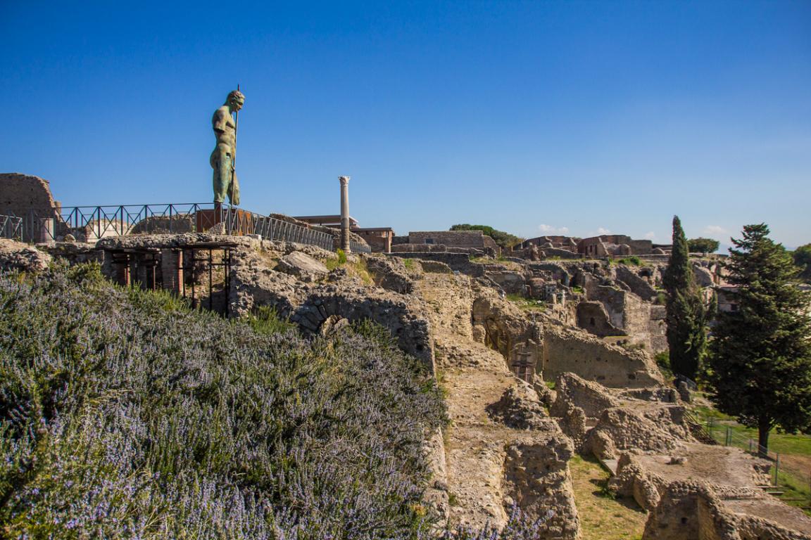 Ruines de Pompéi ©B.Cappronnier