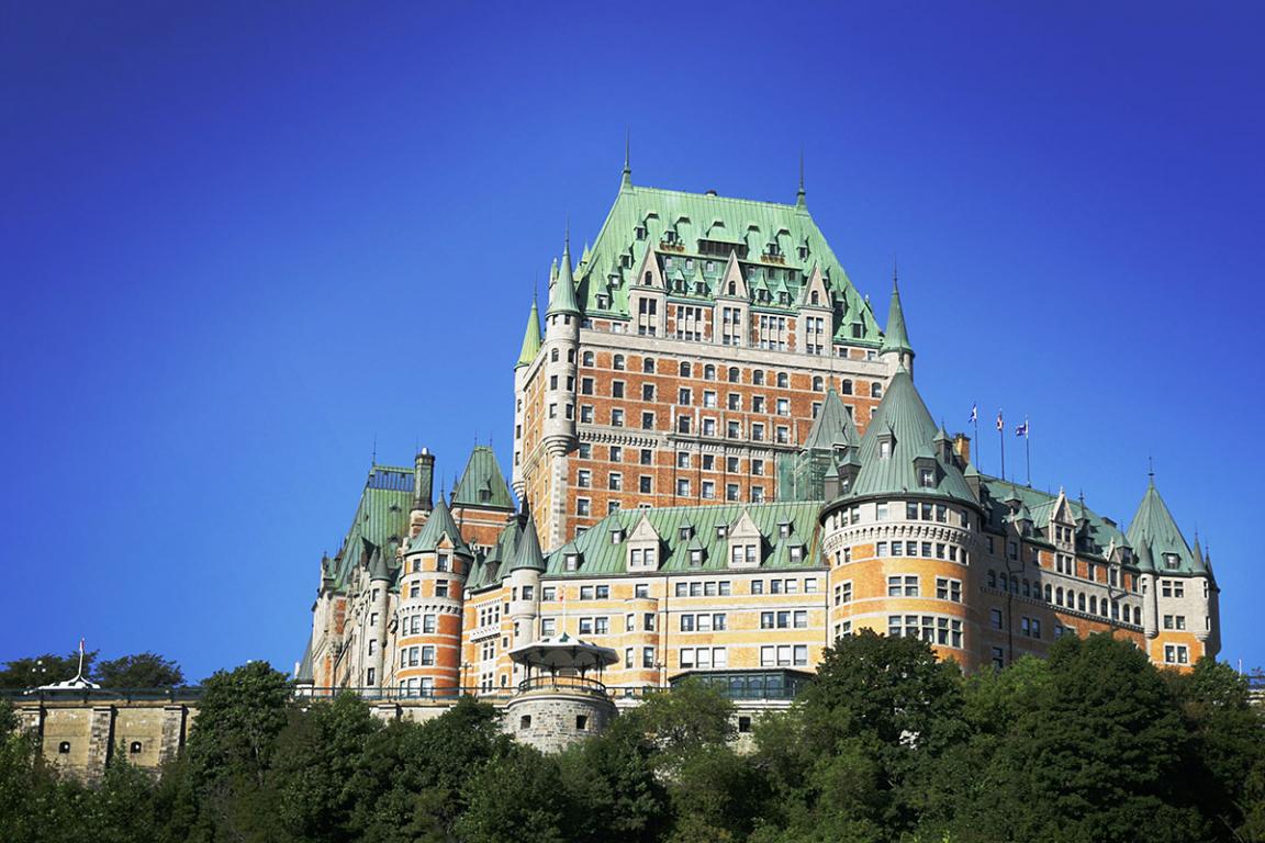 Quebec - Château de Frontenac