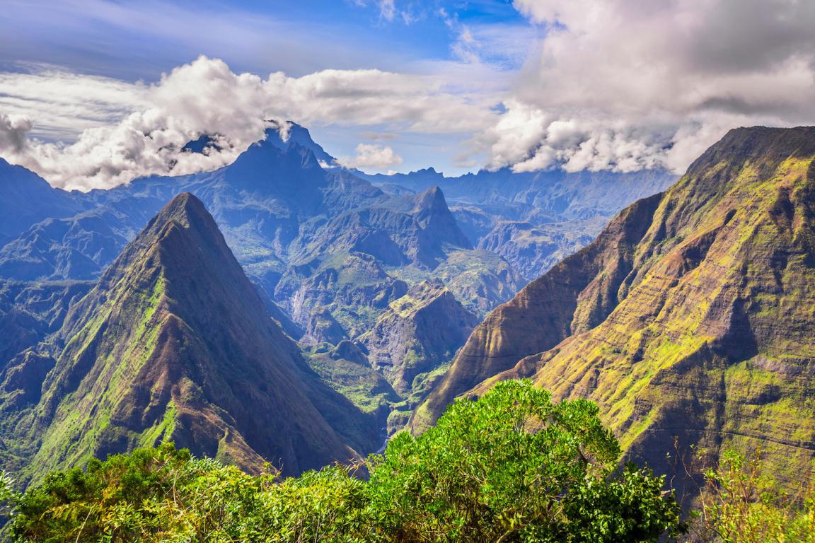 La Réunion montagne