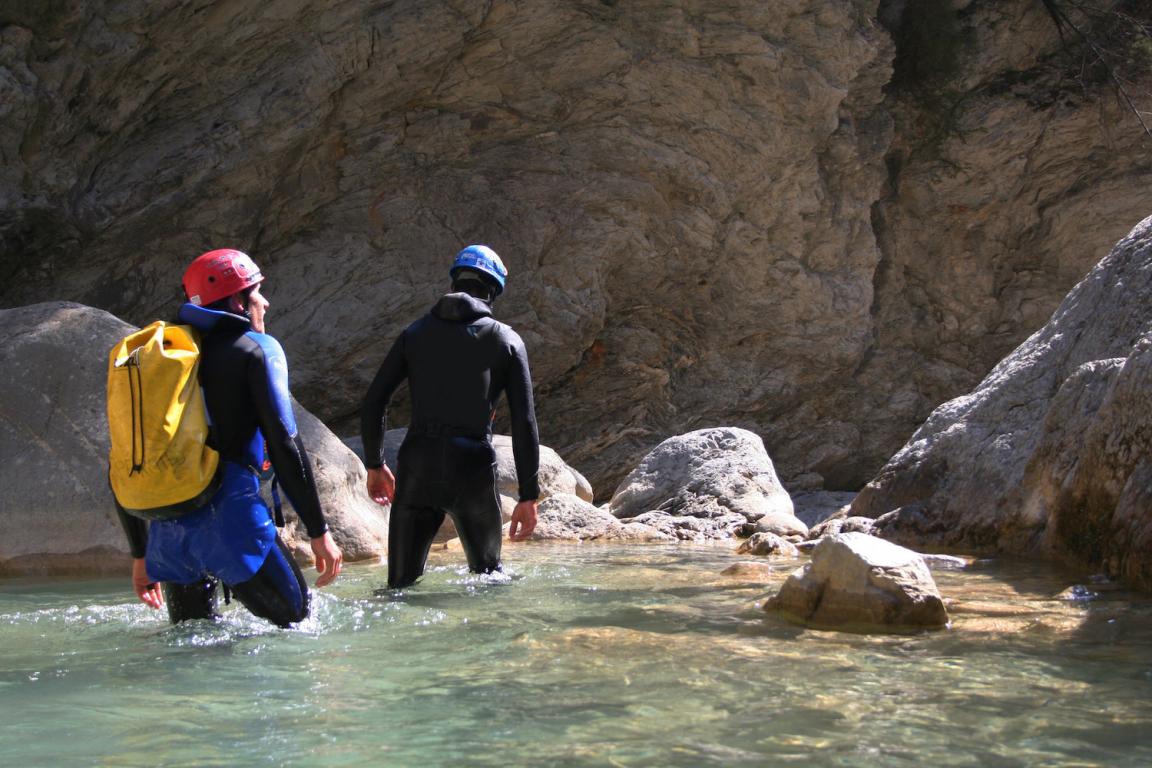 La Réunion canyoning