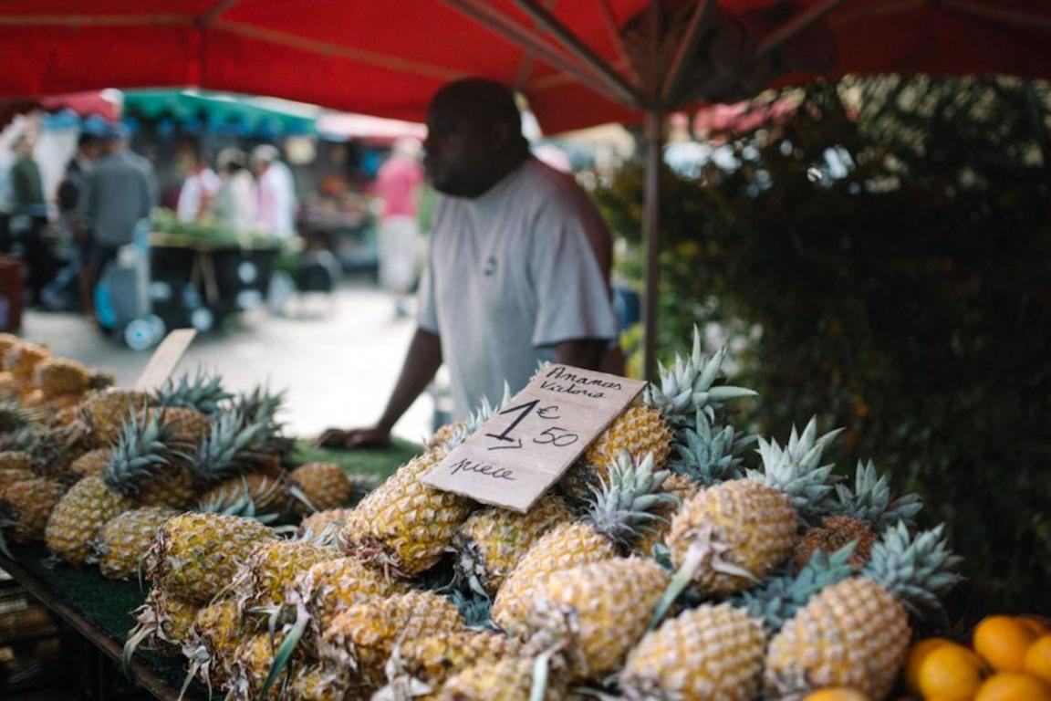 La Réunion marché