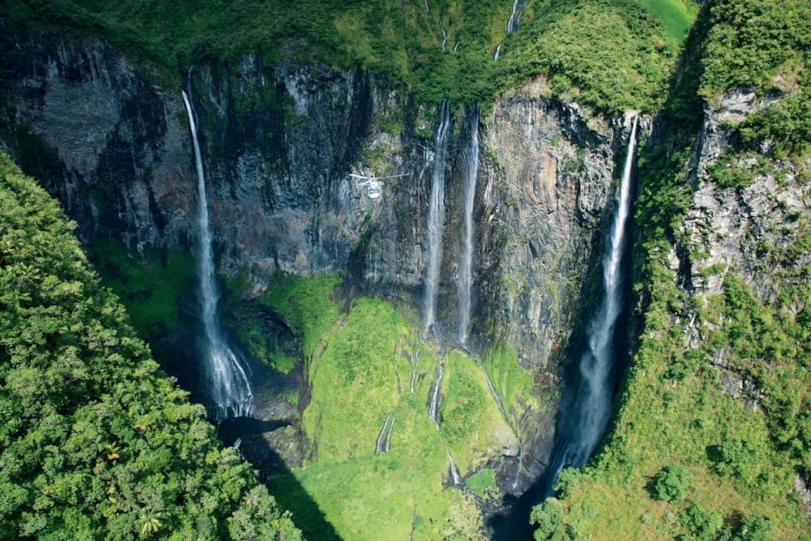 La Réunion cascades