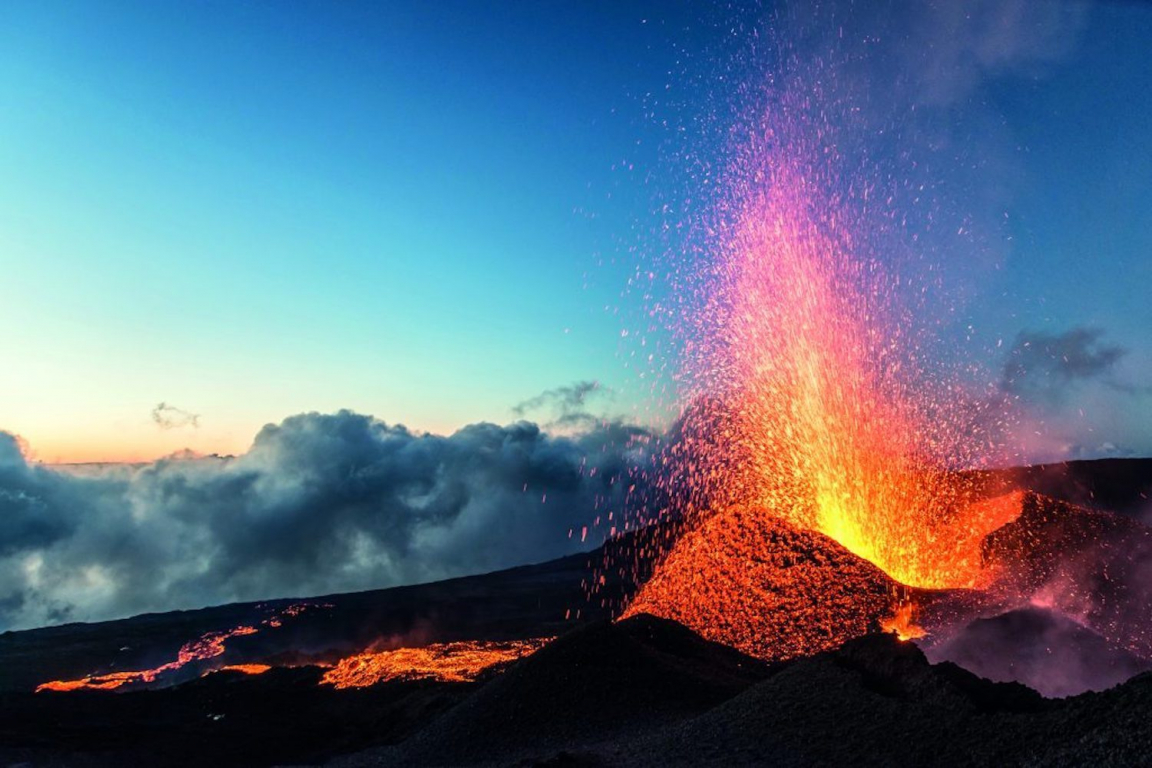 Réunion volcan Piton de la Fournaise