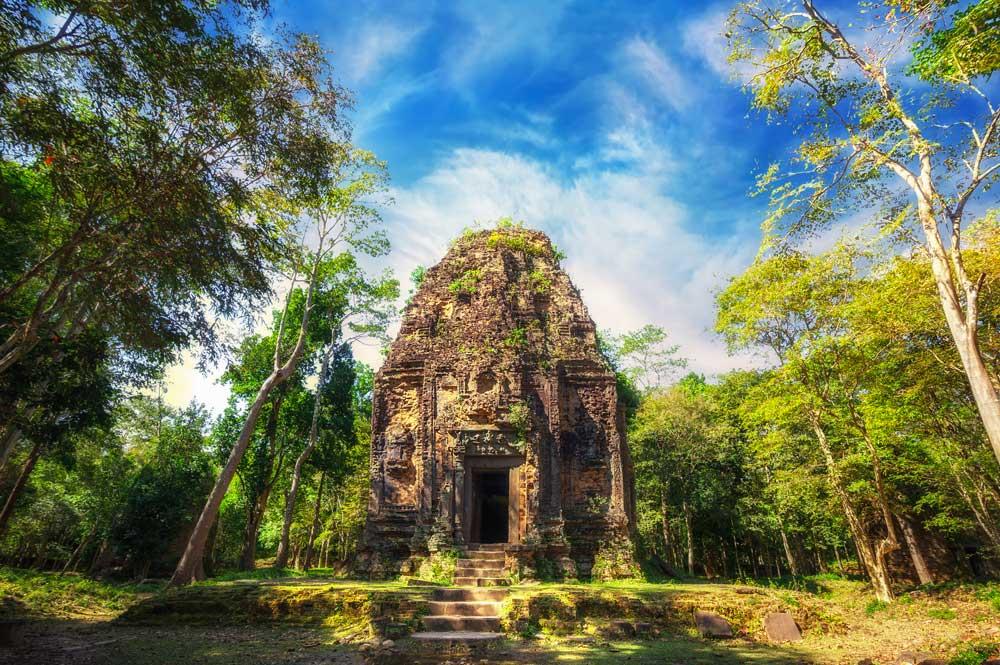 Le Sambor Prei Kuk au Cambodge
