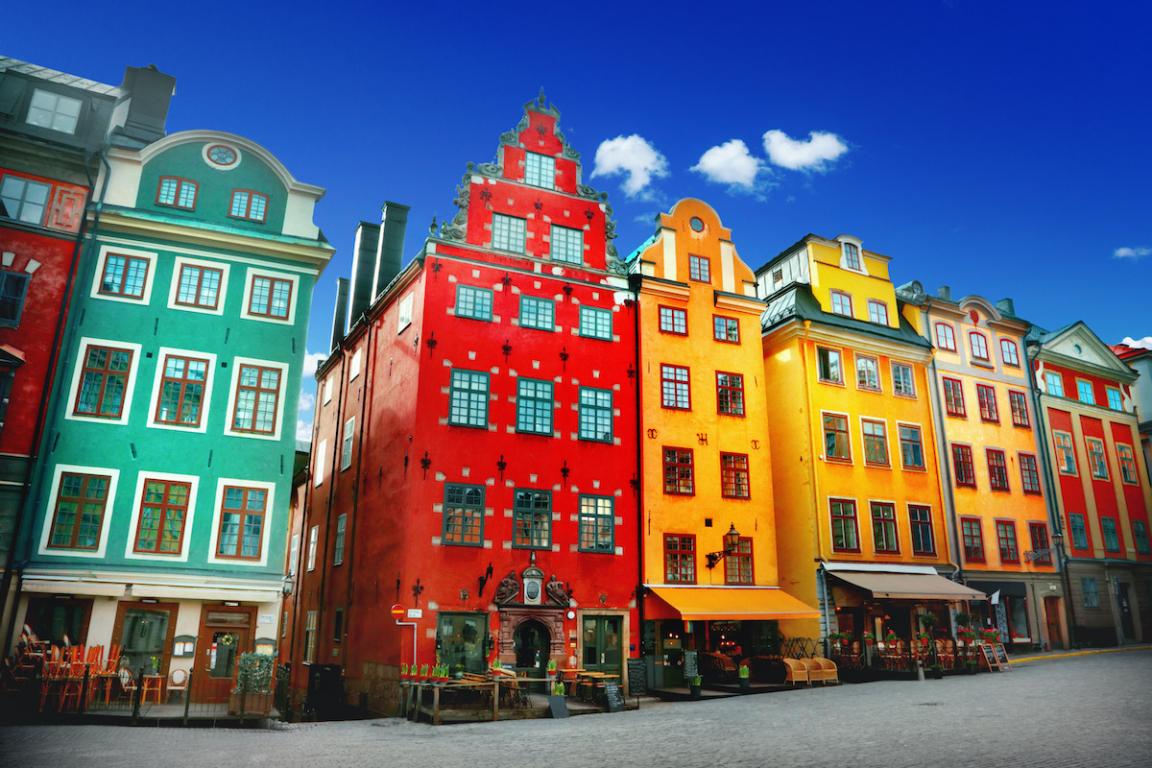 Stockholm charme ville