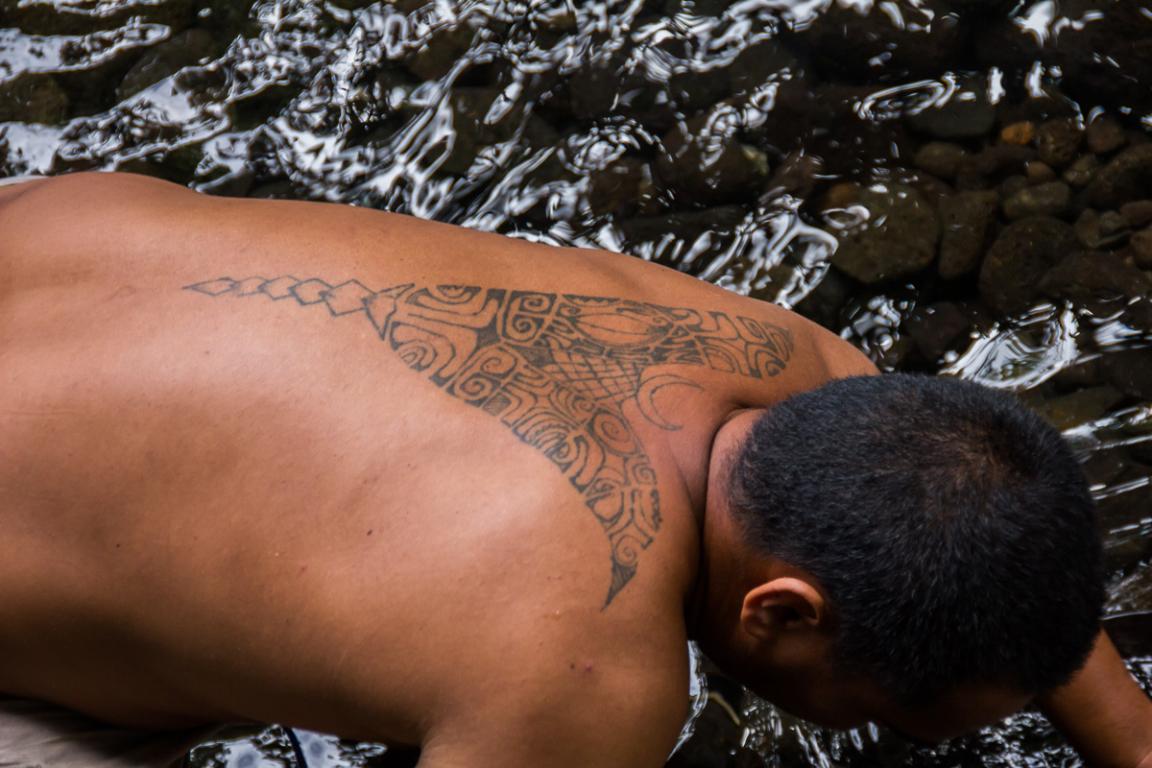 Les tatouages, éléments important de la culture polynésienne ©B.Cappronnier