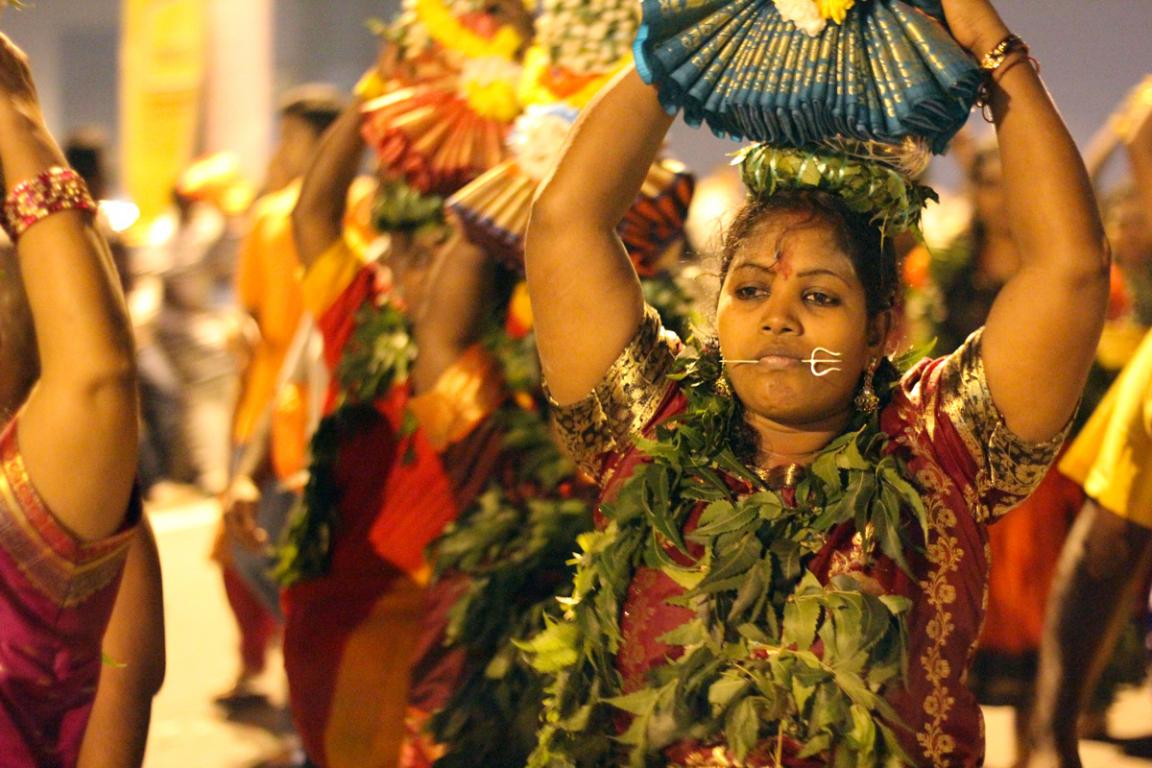 Thaipusam, fête hindoue célébrée à Pénang ©B.Cappronnier