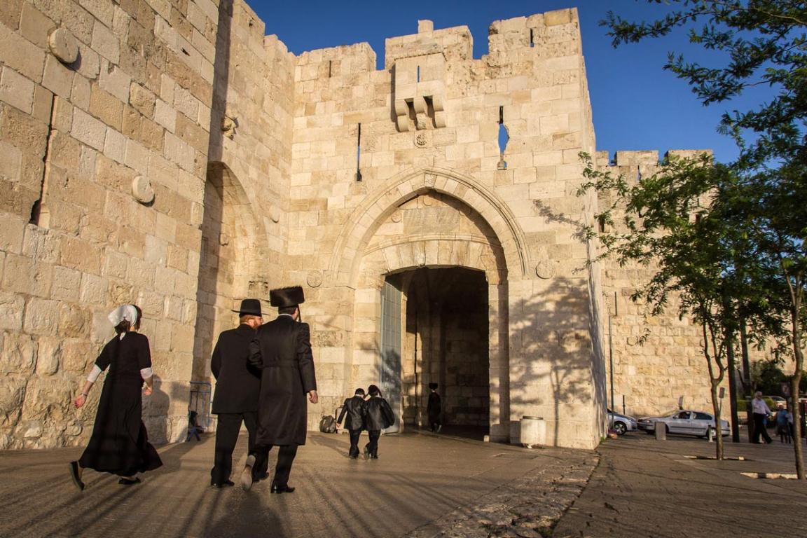 La vieille ville de Jérusalem ©B.Cappronnier
