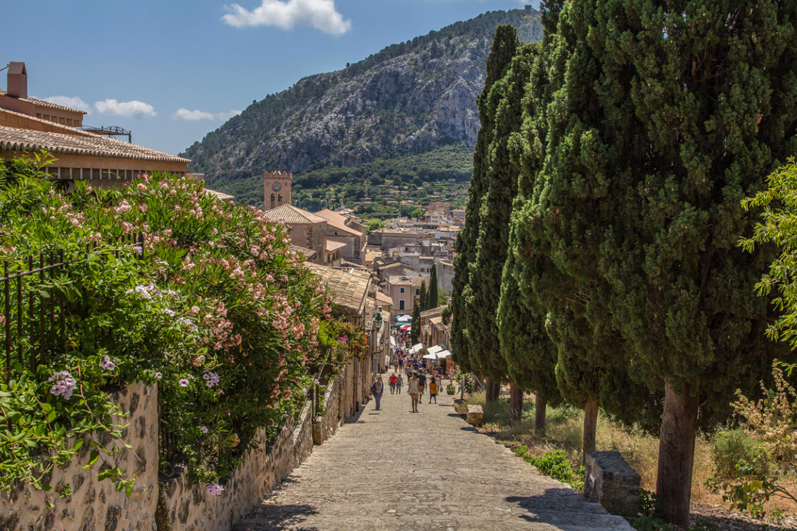 Le village de Deià ©B.Cappronnier