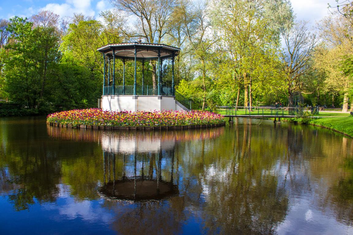 Le Vondelpark à Amsterdam