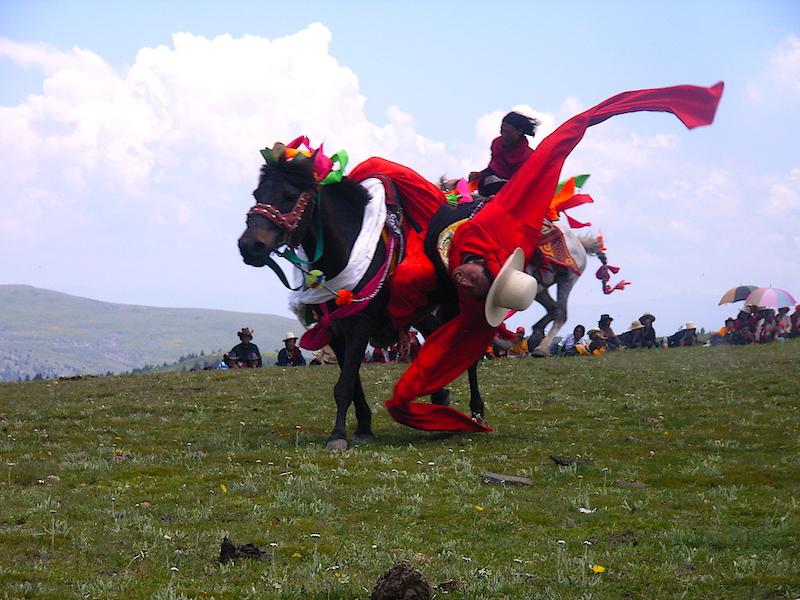 Le festival du cheval de Tagong, dans le Kham tibétain